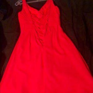 Damas by Tiffany Designs XS short red dress